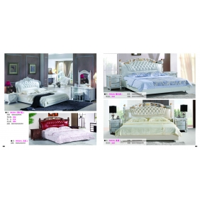 bright color series bed