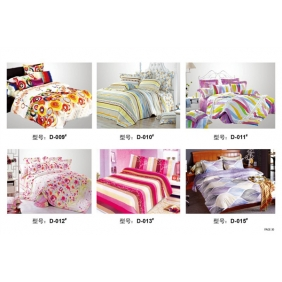 bright color series bedclothes